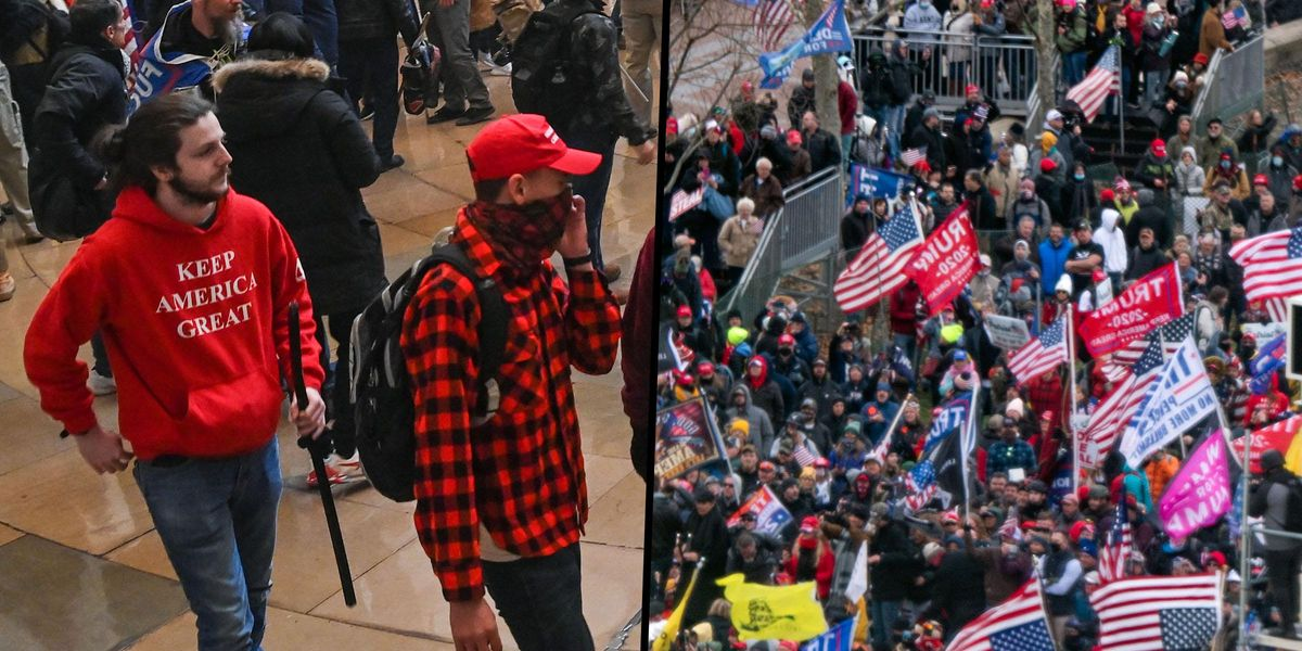 Capitol Rioter Seen in 'Keep America Great Again' Shirt Gets Turned in by His Own Family