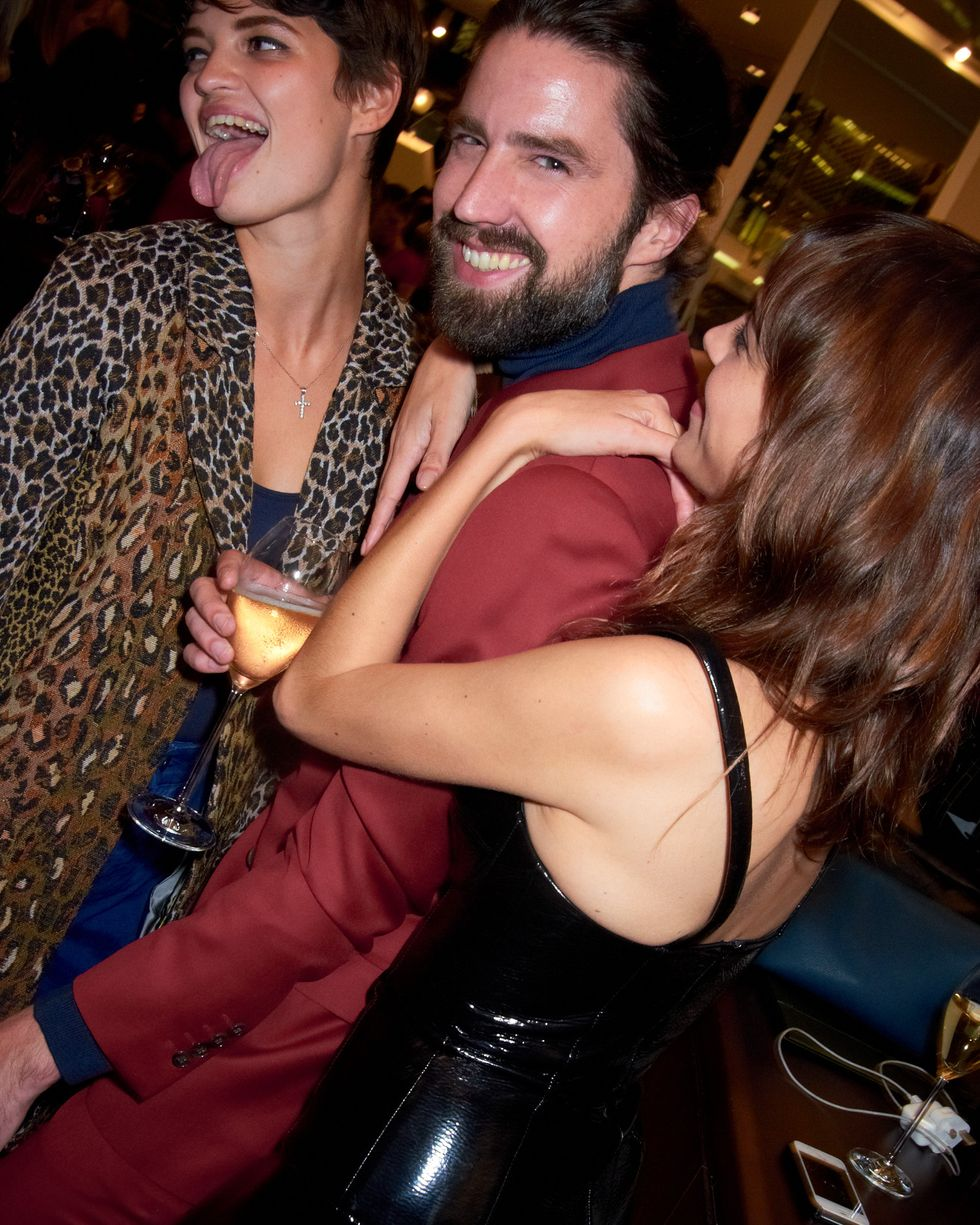 Scenes from the Longchamp Party