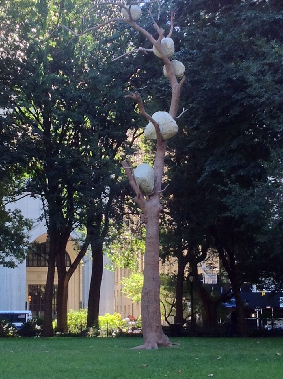 Madison Square Park Is Now Home to Some Freaky Tree Sculptures