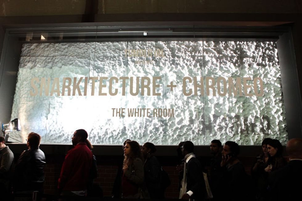 Snarkitecture and Chromeo's The White Room Brought Back Old New York