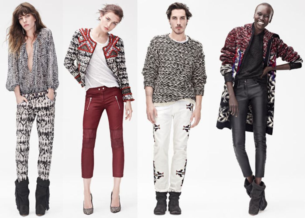 All the Pieces (for Ladies and Gents) From Isabel Marant for H&M