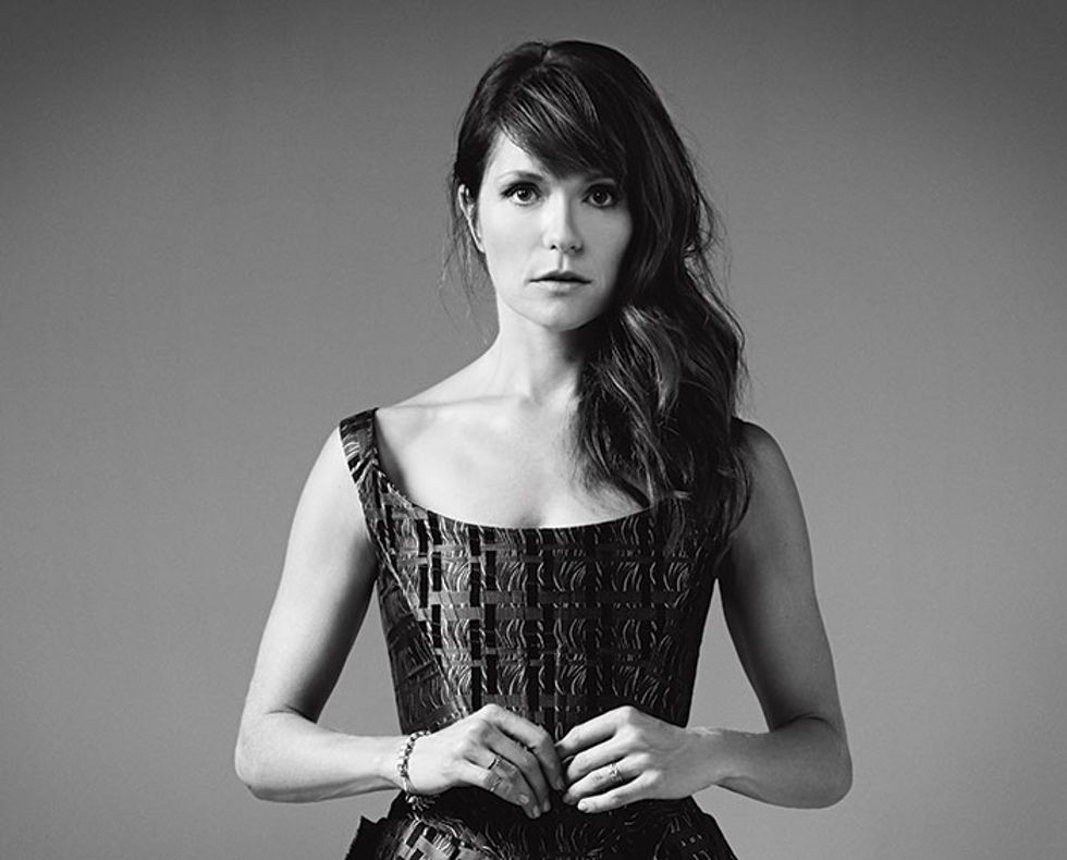 The League's Katie Aselton on Loud and Loyal Sports Fans and Binging on Scandal