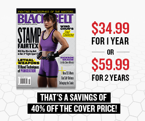 Black Belt Mag subscription sign up
