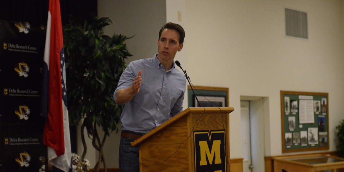 """Hawley Boasts 'Outpouring Of Support,"""" But His Ratings Have Tanked"""