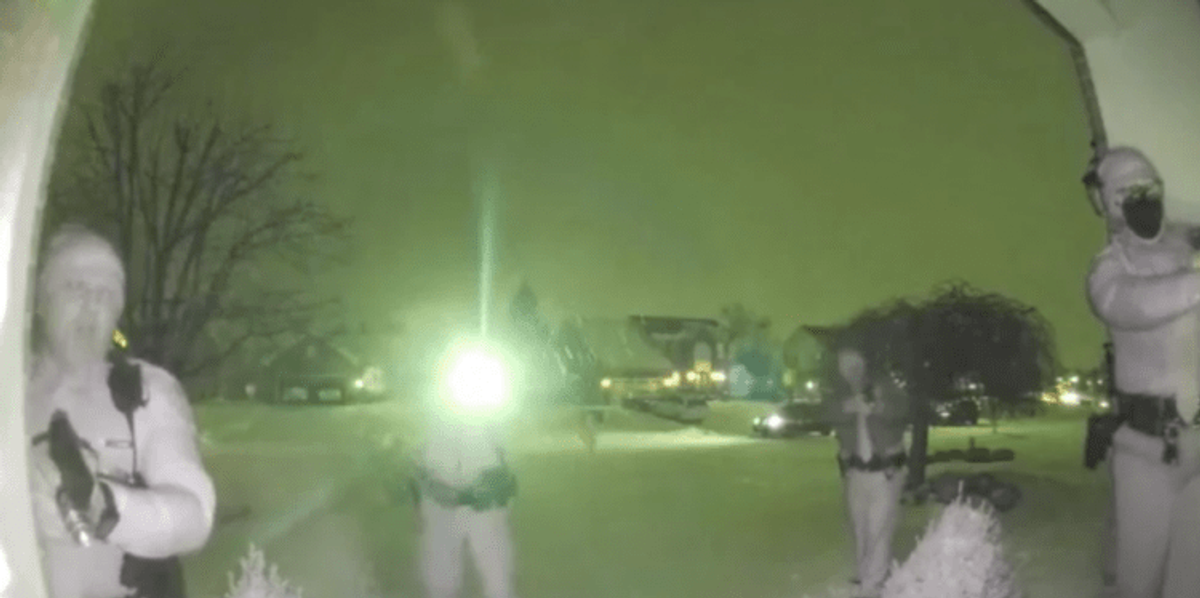 Insane doorbell camera video shows Ohio deputy literally dodge a bullet, make shooter pay