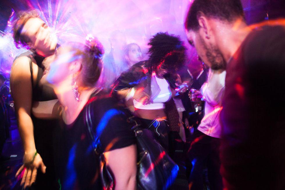 Having ultra fun at Brooklyn Party Ultravelvet