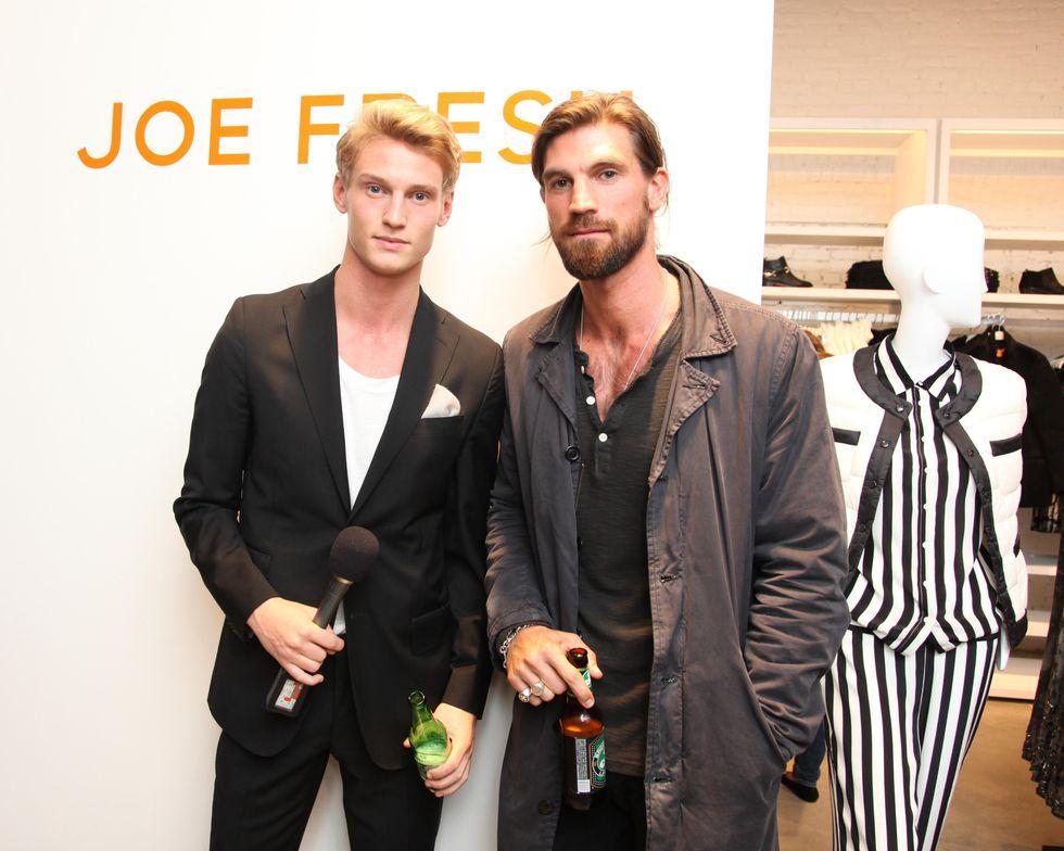 Scenes from the Opening of Joe Fresh's Soho Store