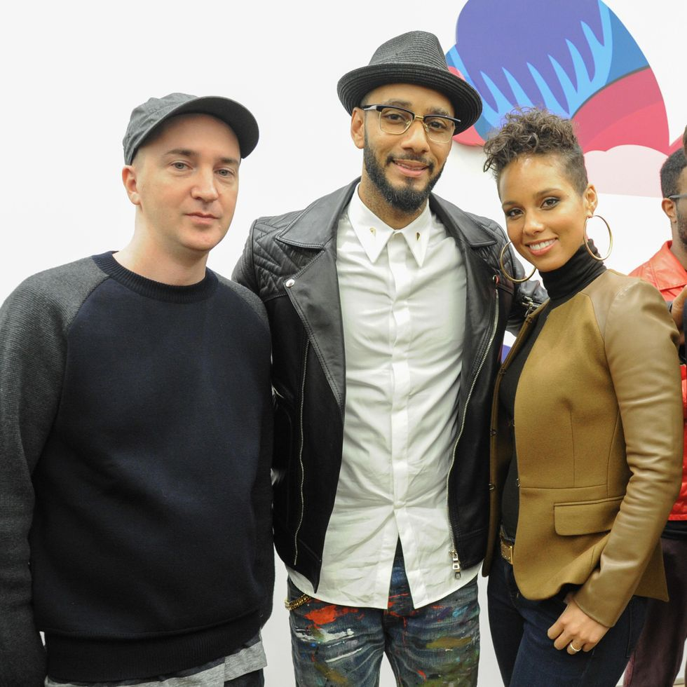Pharrell, Alicia Keys + More at the Opening of KAWS: PASS THE BLAME