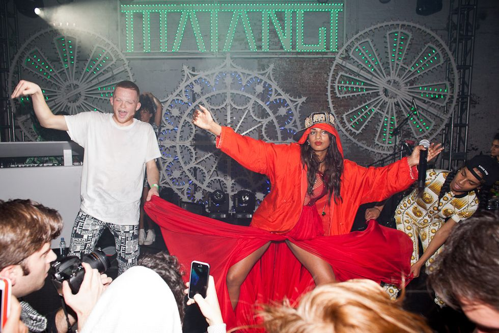M.I.A. Celebrates the Release of Matangi With a Party In Bushwick
