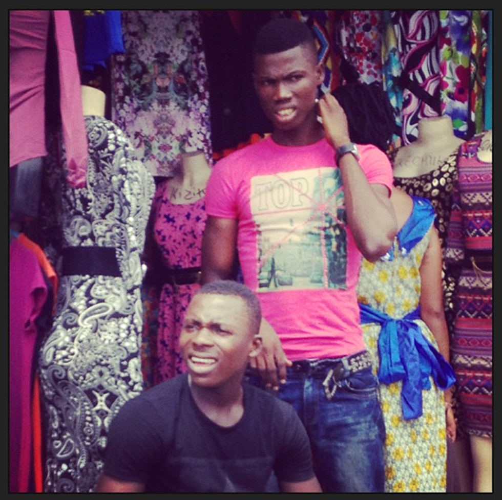 Mr. Mickey's Cuckoo Crazy Trip to Lagos Fashion Week