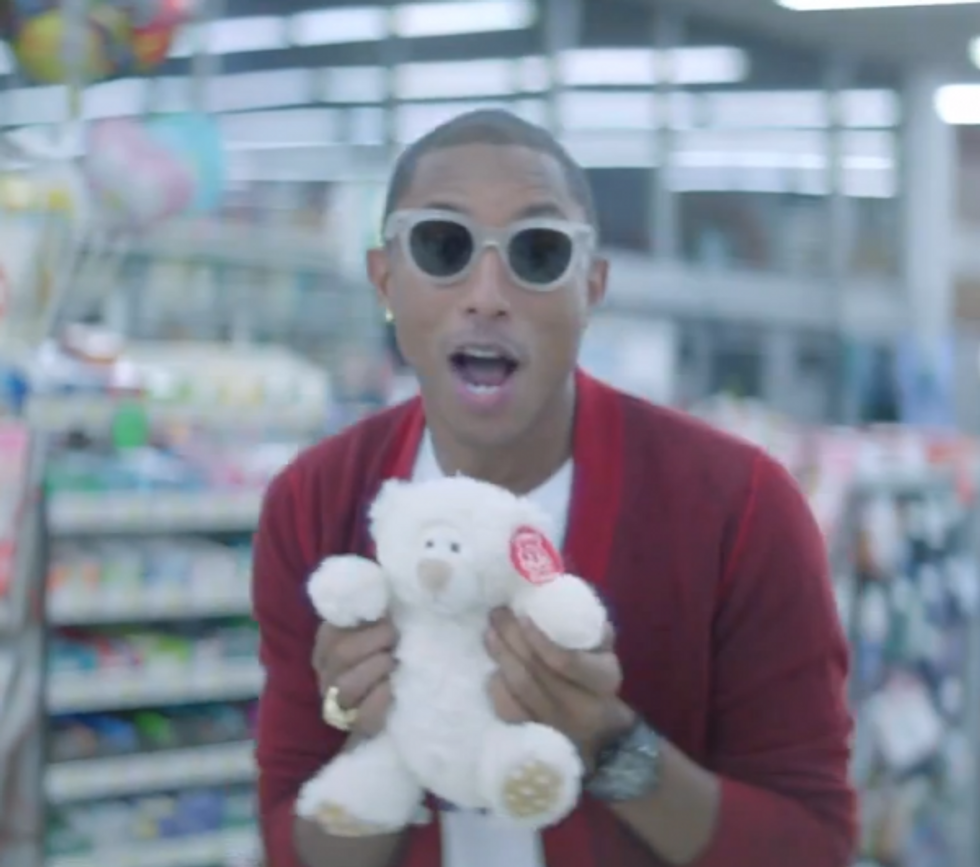 """Don't Worry, Watch Pharrell's """"Happy"""" (For 24 Hours)"""