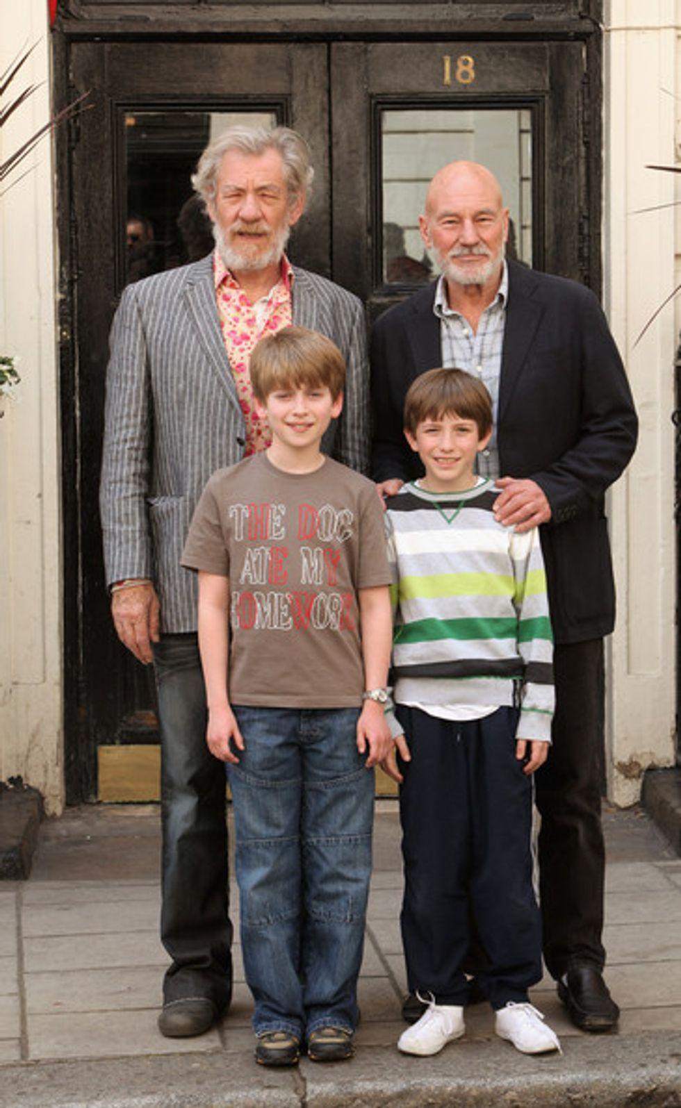 Patrick Stewart and Ian McKellan: A Salute to Their Broadway Bromance