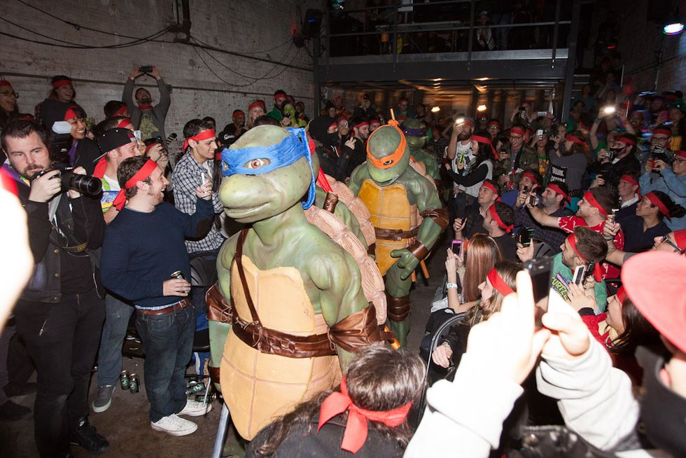 Turtle Power! Scenes from the Fall Foot Clan Tryouts