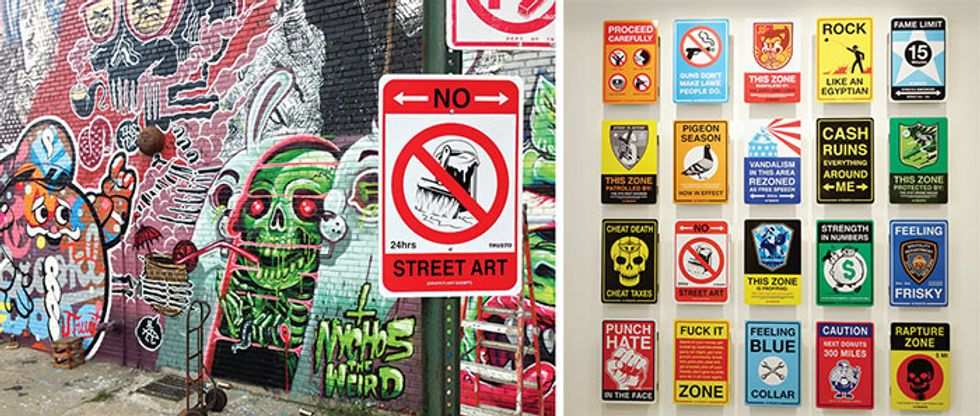 The Big Ideas Behind Little Italy's Most Striking Street Art