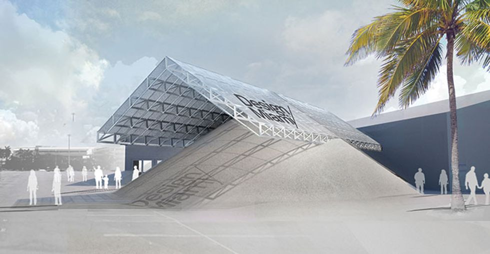 The Young Architecture Duo Pile It On For Art Basel Miami Beach.