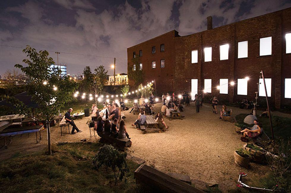 Inside Dustin Yellin's Creative Utopia In Red Hook, Brooklyn