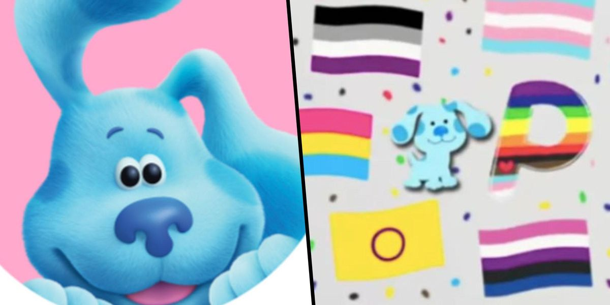 People Are Praising 'Blue's Clues' After Teaching Kids That 'P Stands for Pride'