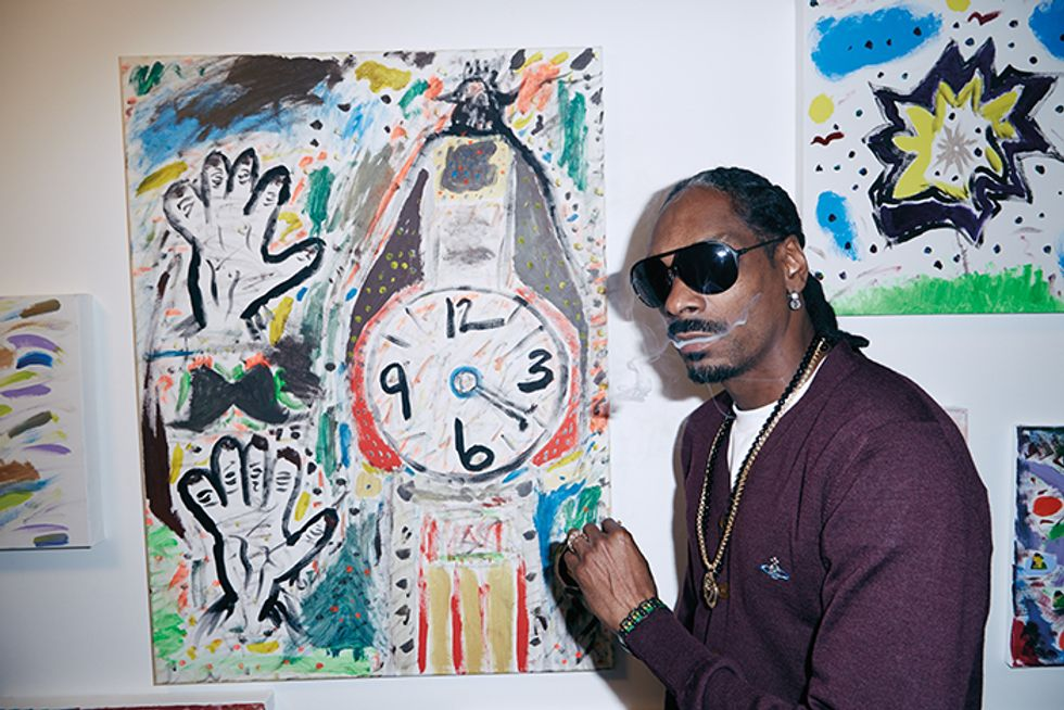 Snoop Dogg Is the Jackson Pollock Of Our Time