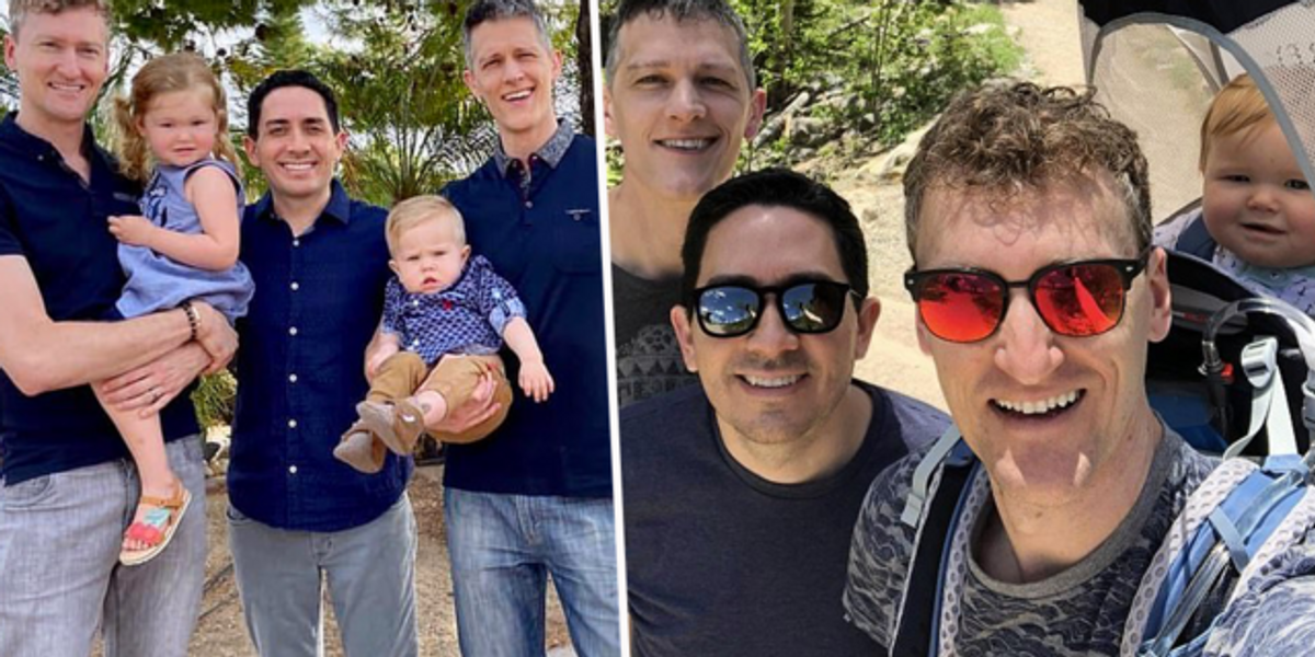 Polyamorous Gay Throuple Say Their Unique Journey Into Parenthood 'Is Like Winning the Lottery'