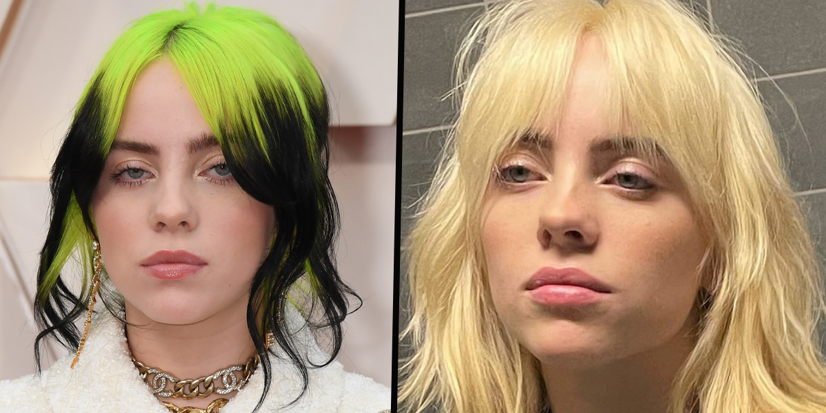 Billie Eilish Has Gotten Rid of Her Iconic Green and Black Hair to Go Bright Blonde