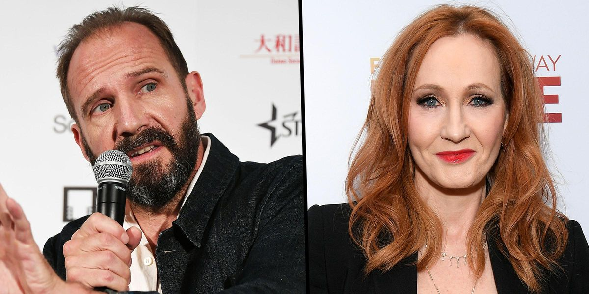 'Harry Potter' Star Ralph Fiennes Defends J.K. Rowling Amid Transgender Controversy