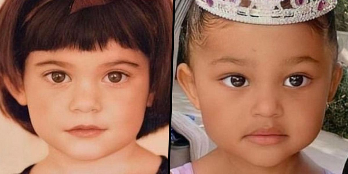 Kylie Jenner Shares Rare Side-by-Side Snaps of Herself as a Baby Next to Stormi