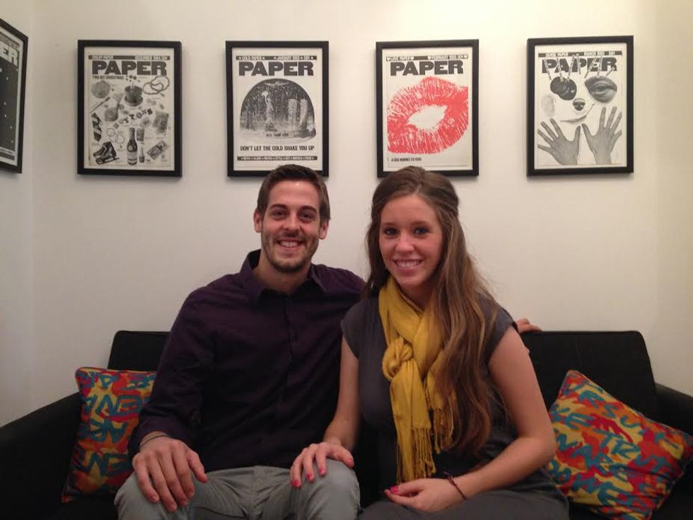 Jill Duggar and Derick Dillard Stop By Paper for a Chat With Mr. Mickey