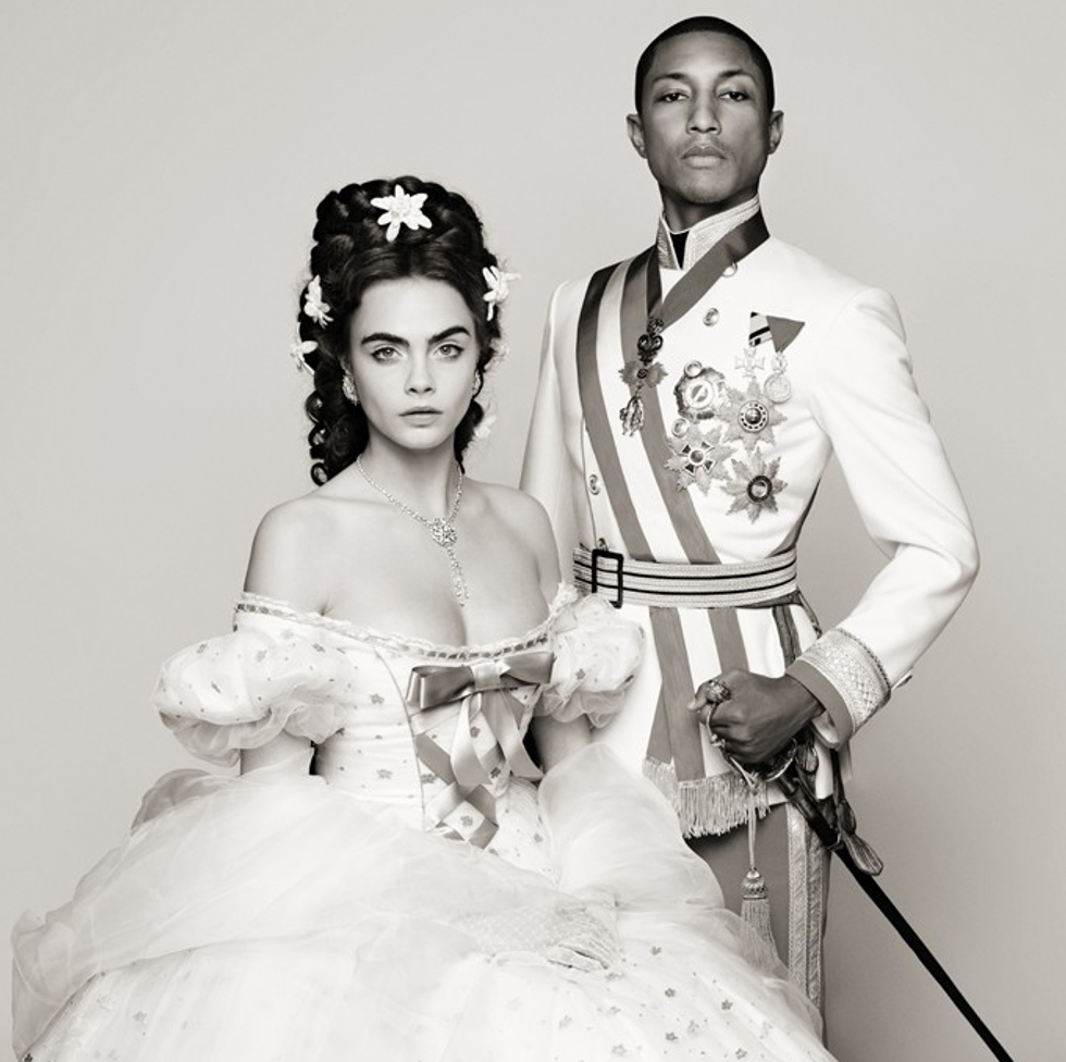 Cara Delevingne and Pharrell Sing Together in Chanel's Latest Short Film