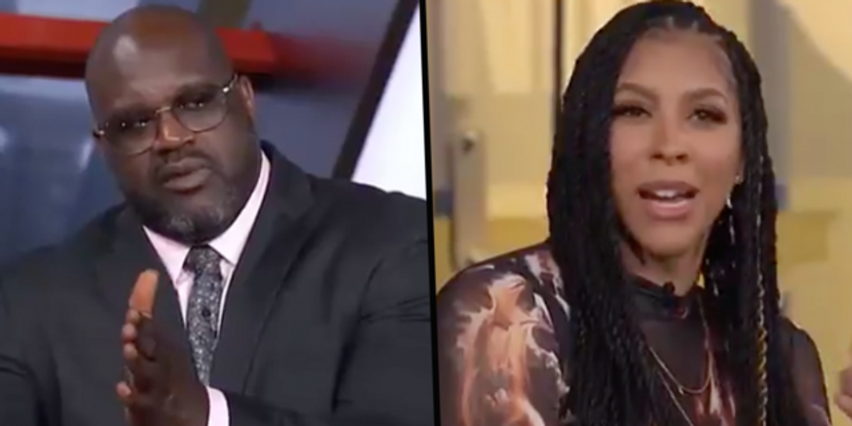 Shaq Suggests WNBA Should Lower Rim and Causes Awfully Uncomfortable Exchange With Candace Parker