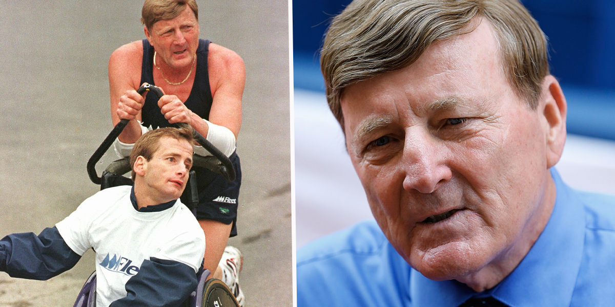 Boston Marathon Icon Dick Hoyt, Who Pushed His Son in a Wheelchair at the Race, Has Died