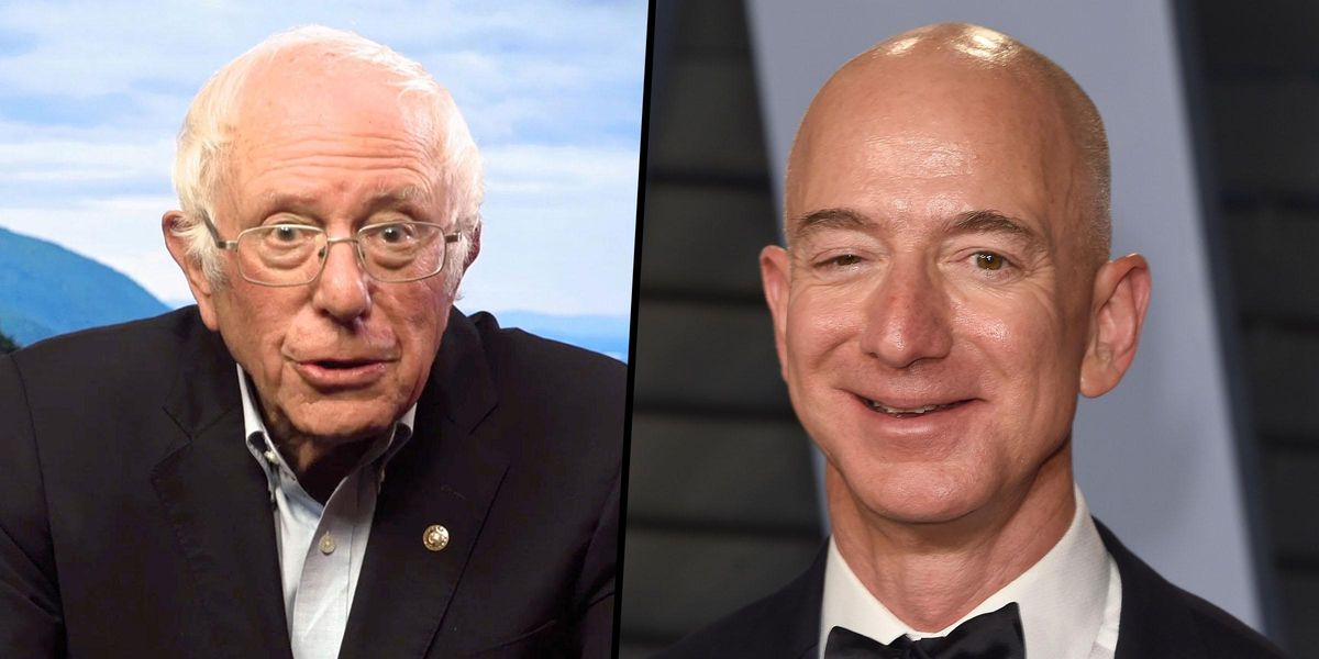 Bernie Sanders Rips Into Jeff Bezos for Trying To Stop Amazon Union