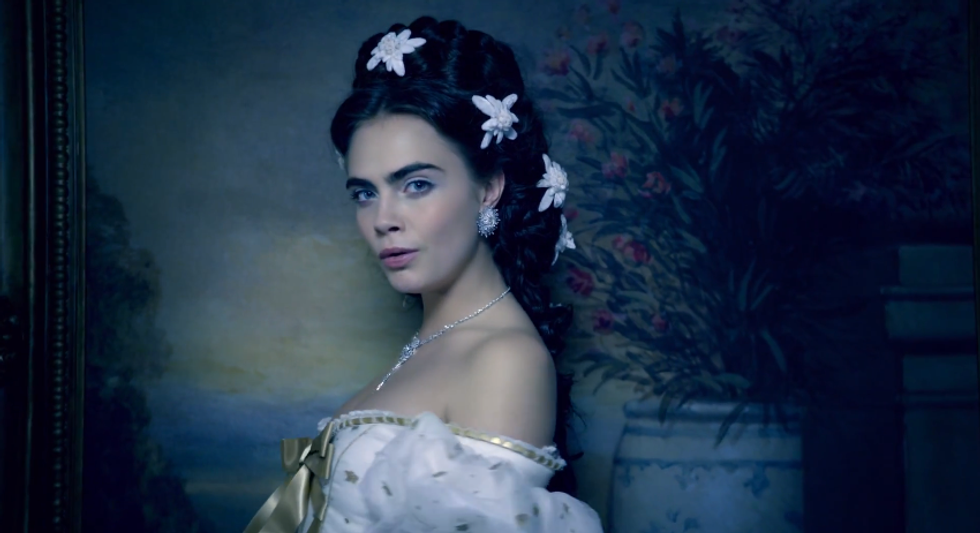 Chanel's Short Film Featuring A Cara Delevingne and Pharrell Duet is Here