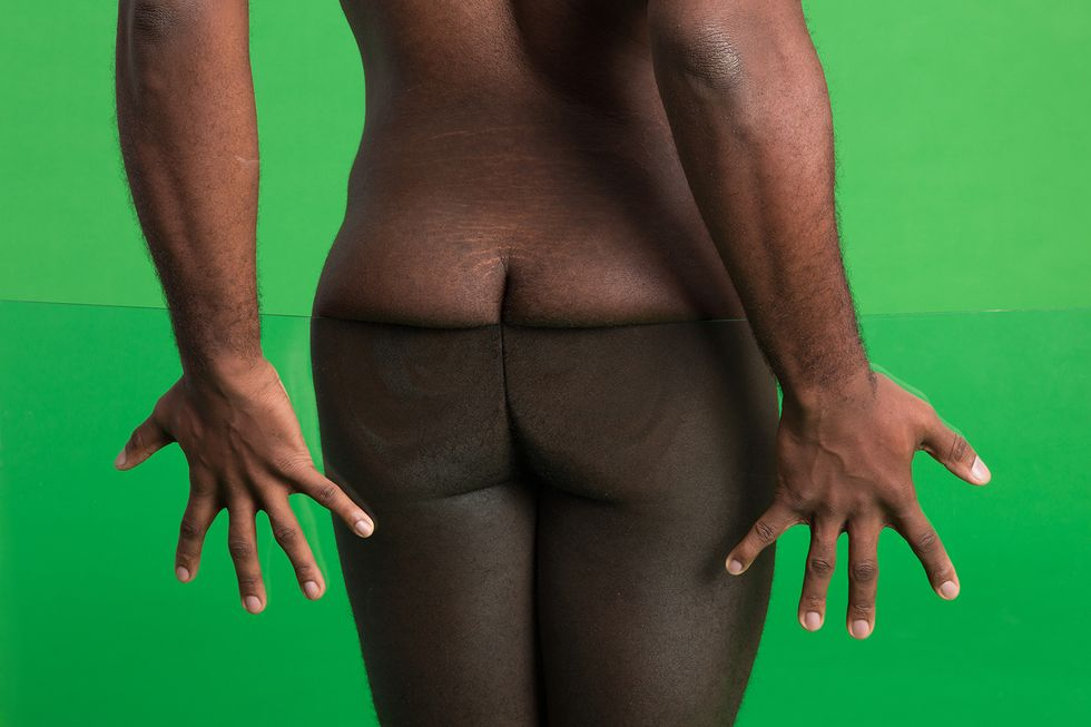 Today's Nudes: Alexander Wang Does Denim, Refinery 29 Captures the Elusive Male Butt