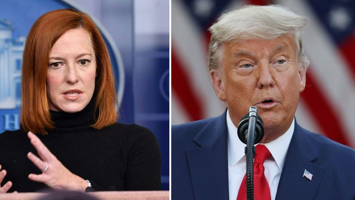 Jen Psaki Doesn't Mince Words About The Role Trump Played In Stoking Anti-Asian Sentiment