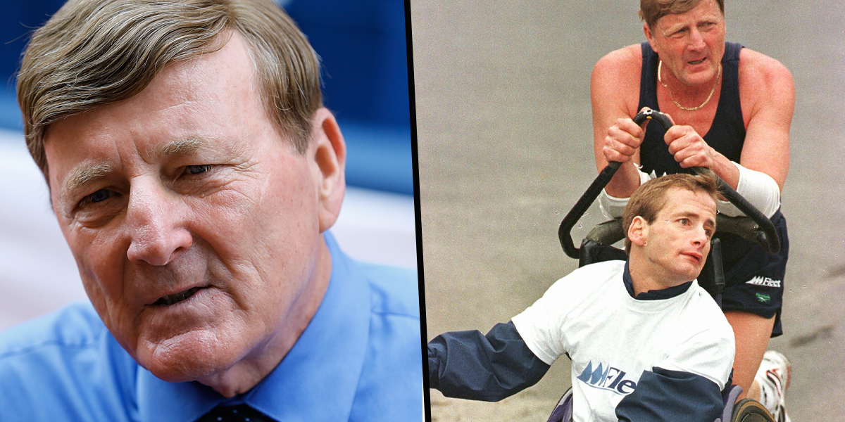 Boston Marathon Icon Dick Hoyt, Who Pushed His Son in a Wheelchair at 32 Races, Has Died