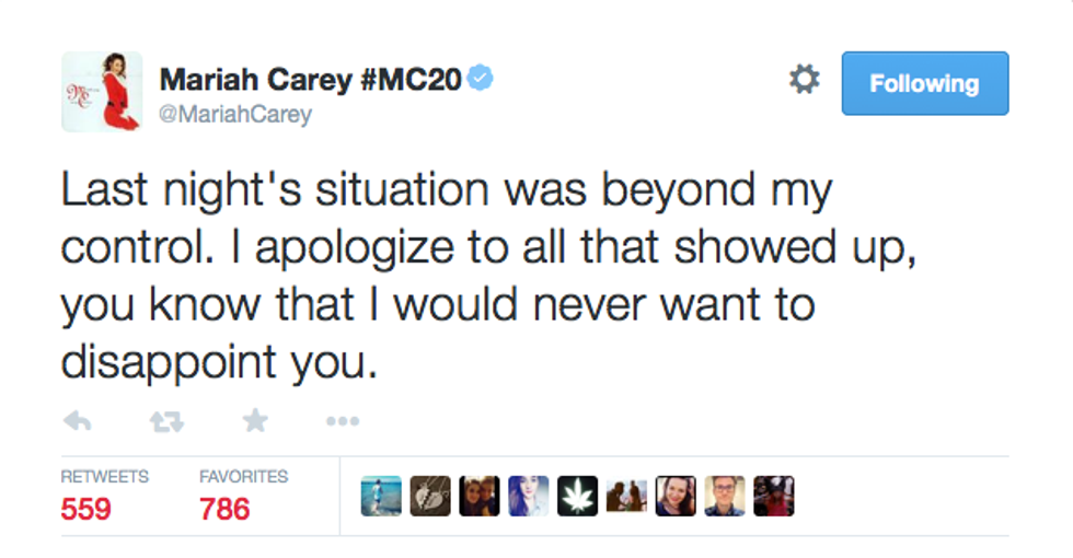 """In Defense of Mariah Carey's Tone-Deaf Performance of """"All I Want For Christmas Is You"""""""