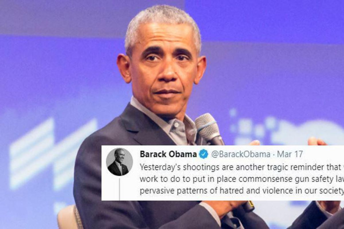 Obama responded to the Atlanta shooting with a renewed call for 'common sense' gun control laws