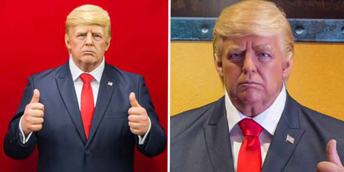 Donald Trump Waxwork Removed From Texas Museum After People Keep Punching it in the Face