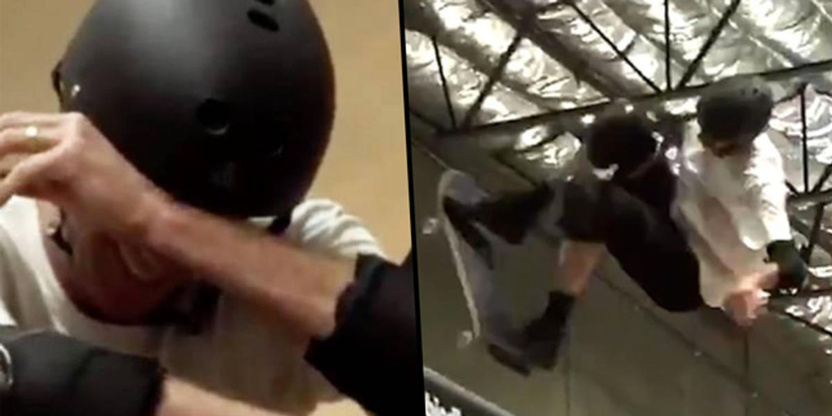 Tony Hawk Breaks Down in Tears After Nailing 'Last Ever' Ollie 540