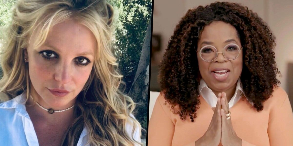 Everyone Wants Oprah to Interview Britney Spears Now and Britney's Considering It