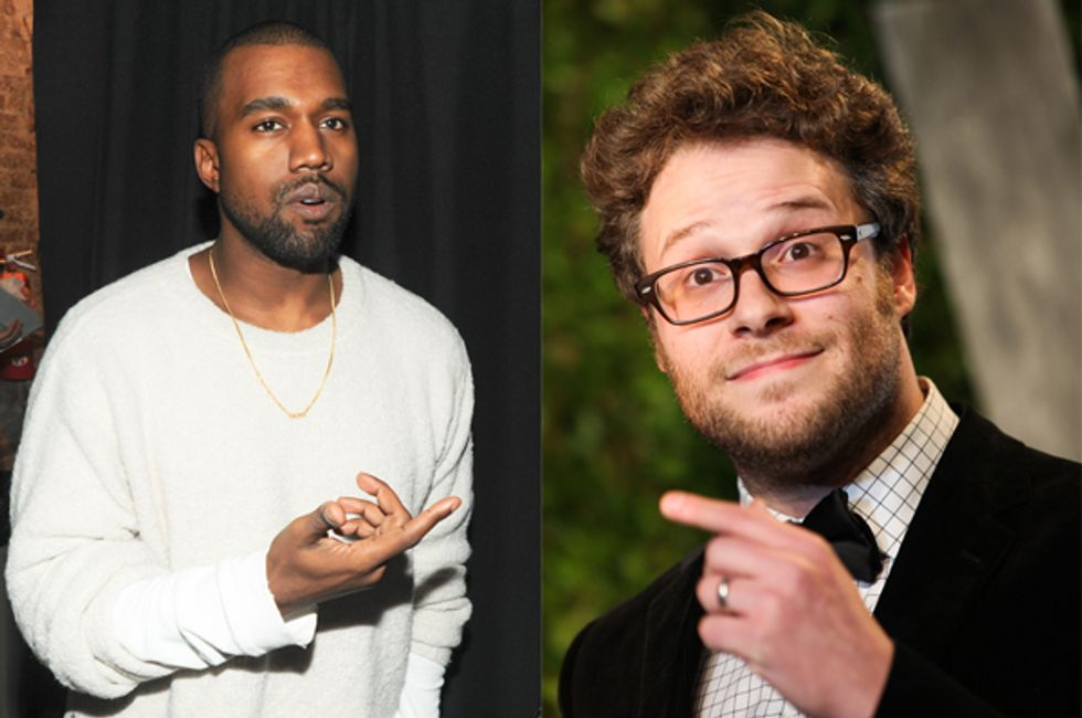 Here's What Seth Rogen Learned After Being Trapped in a Van with Kanye West