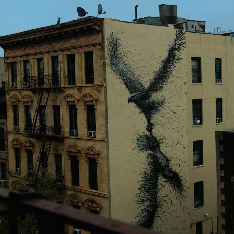 """U2 Commissioned Videos from 11 Street Artists; Here's DALeast's Eerie Take on """"This is Where You Can Reach Me Now"""""""