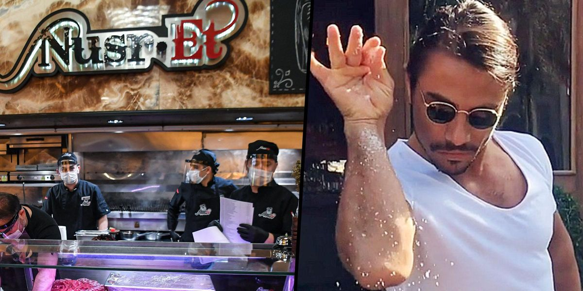 People Horrified To Discover How Expensive the Food Is at Salt Bae's Restaurant