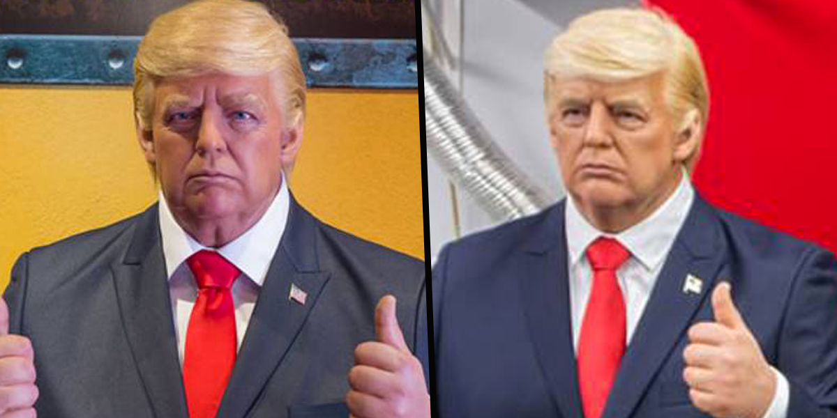 Donald Trump Waxwork Removed From Museum in Texas After People Keep Punching it in the Face