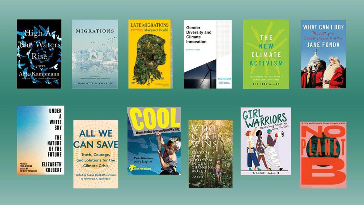 For Women's History Month, Here Are the Newest Books by Women Fighting the Climate Crisis