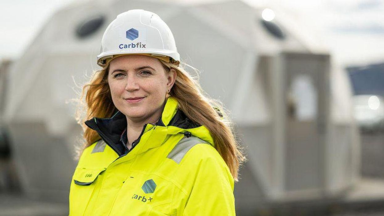 This Icelandic Startup Is Turning Carbon Dioxide Into Stone