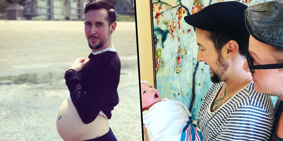 Transgender Man Who Gave Birth To a Healthy Baby Discusses Pregnancy as a Man