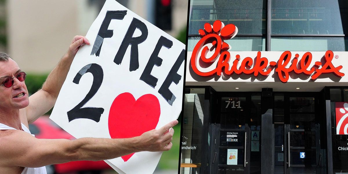 People Urged 'Not To Eat Chick-Fil-A if You Really Love LGBTQ+ People'