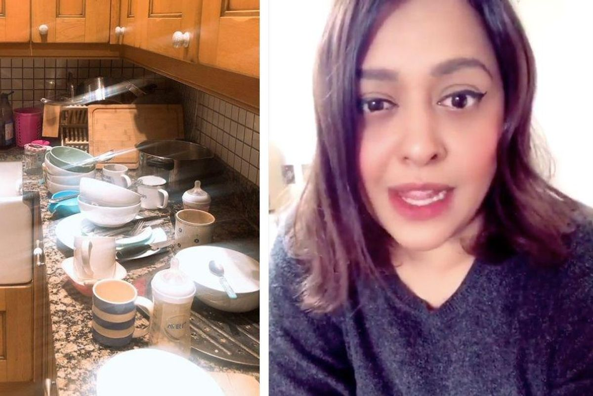 Mom lives the dream: quietly quitting household chores to see if her family notices