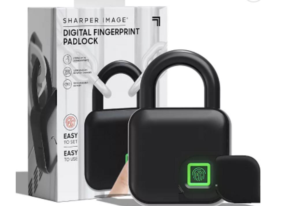 Sharper Image Fingerprint Lock